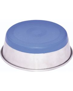 HEAVY DISH FEEDING BOWLS WITH BONDED RUBBER