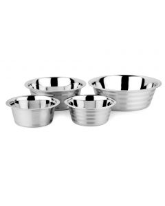 Standard Feeding Bowls With Stripes