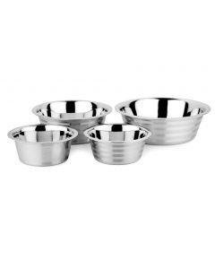 Standard Feeding Bowls With Stripes